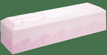 桐生織二丁桜色花柄